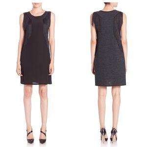 Rebecca Taylor Fringed Silk Dress